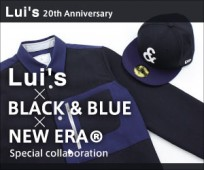 Lui's×BLACK & BLUE×NEW ERA®